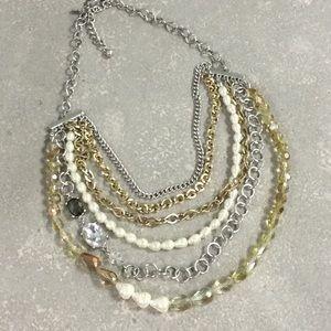 Chico's multi strand necklace